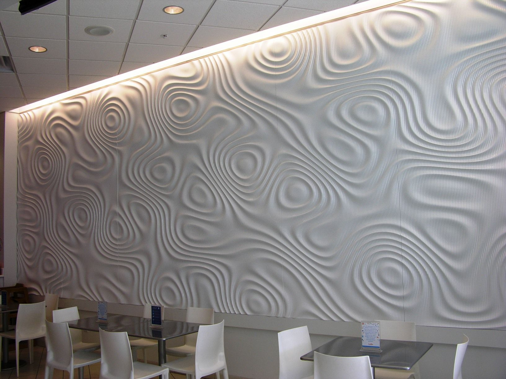 Interlam Mdf Wavy Wall Panels 3d Wall Panels