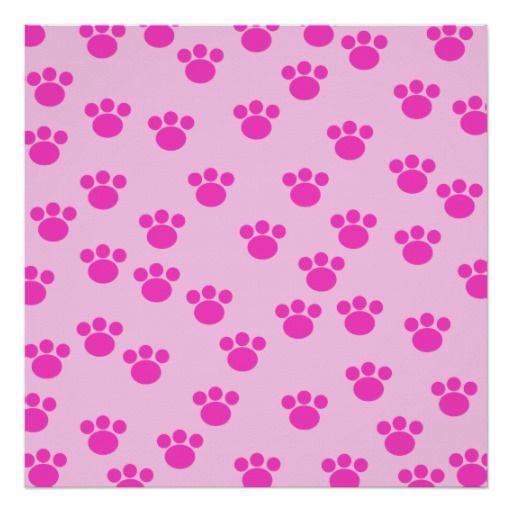 fundo rosa pegada cachorro - Pesquisa Google