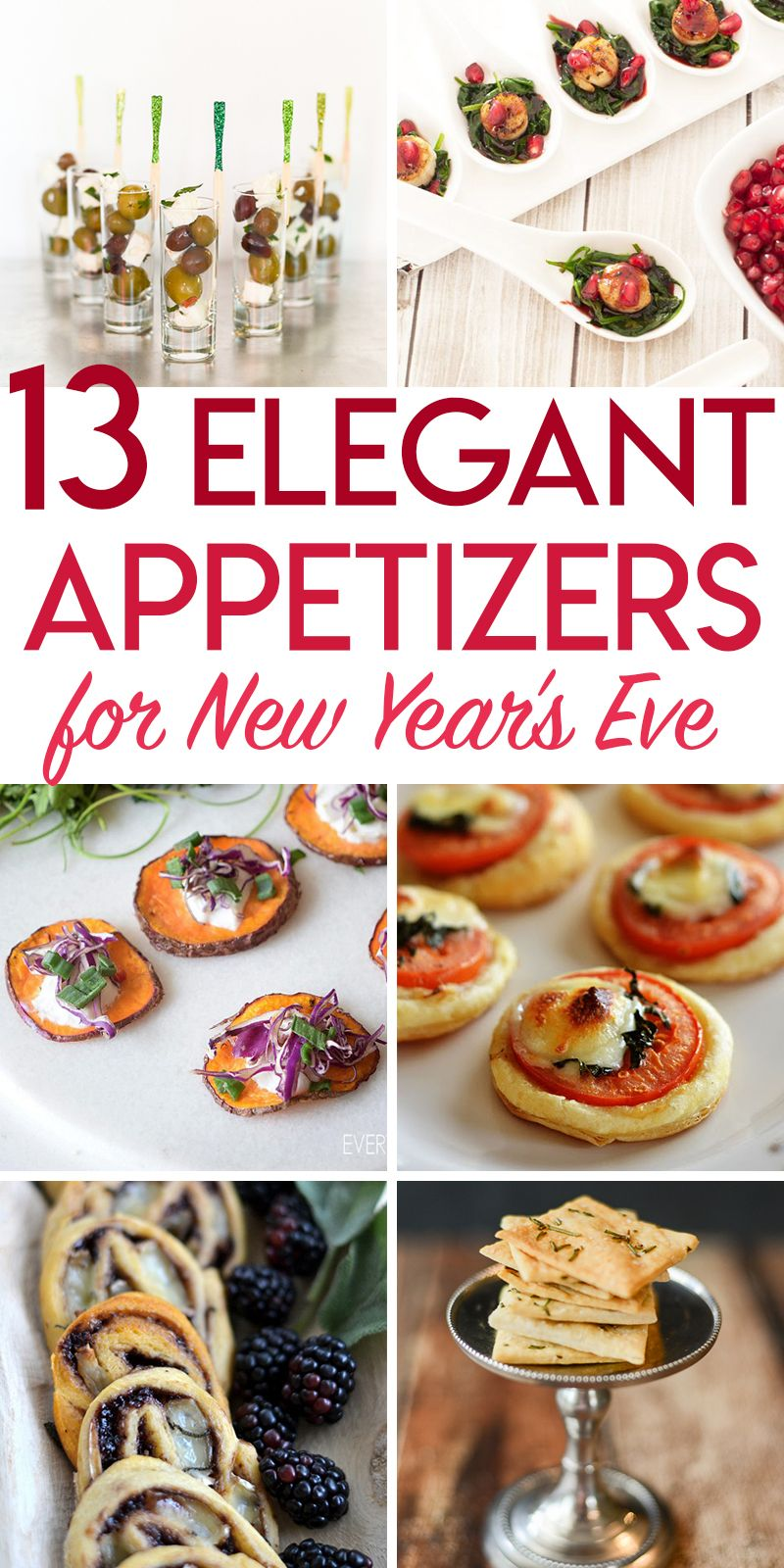 13 elegant new year's eve appetizers New years