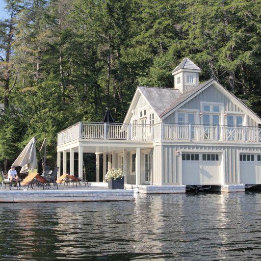 Beautiful Lake House Decor Inspiration: Image Result For Lake George Floating Boathouse