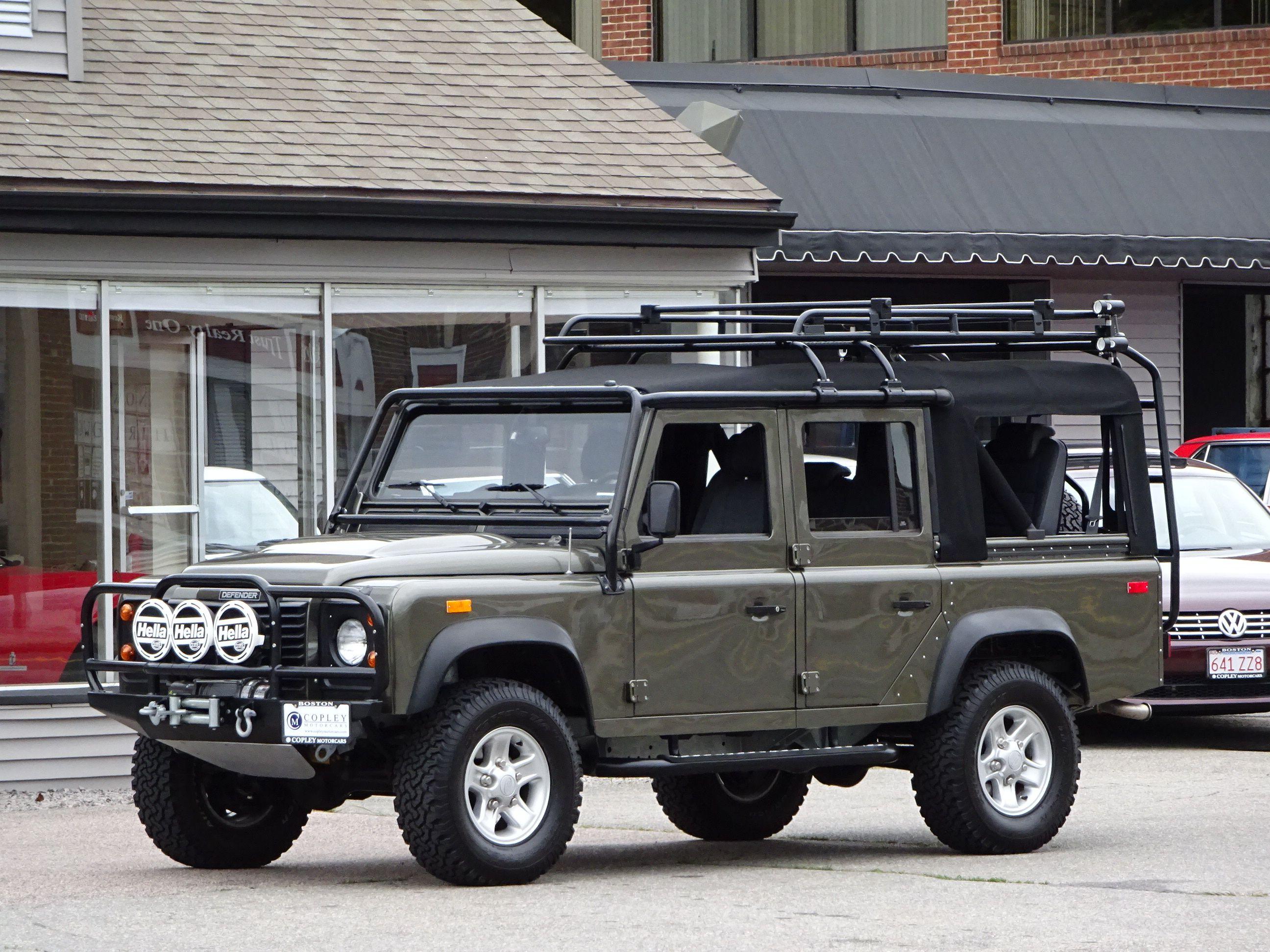 1993 Land Rover Nas Defender 110 Convertible Land Rover Land