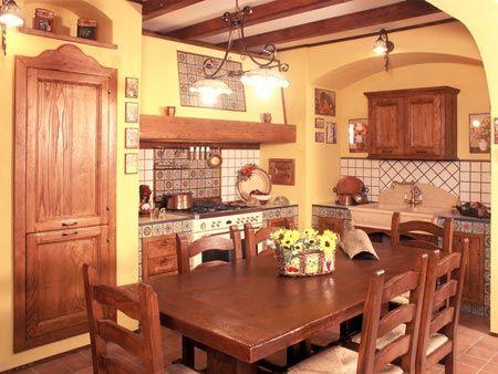 Arredamenti componibili cucina finta muratura ~ Tosca | Kitchen ...