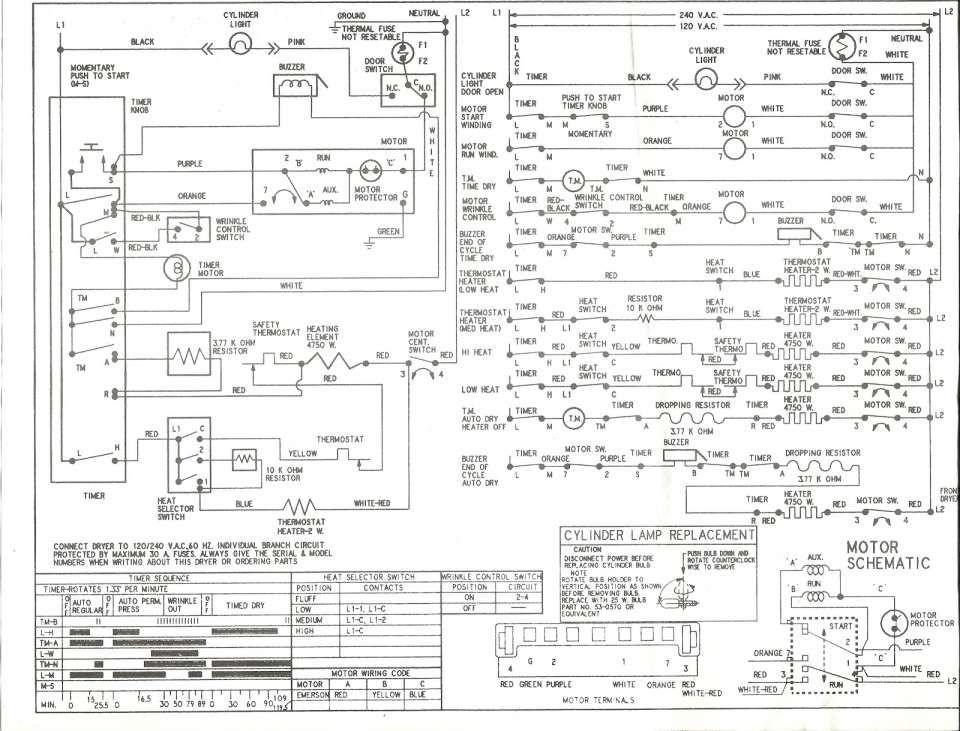 12+ Kenmore 90 Series Electric Dryer Wiring Diagram