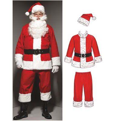 5779d4ac7 Kwik Sew Santa Suit Pattern | Santa Suit | Santa suits, Santa outfit ...
