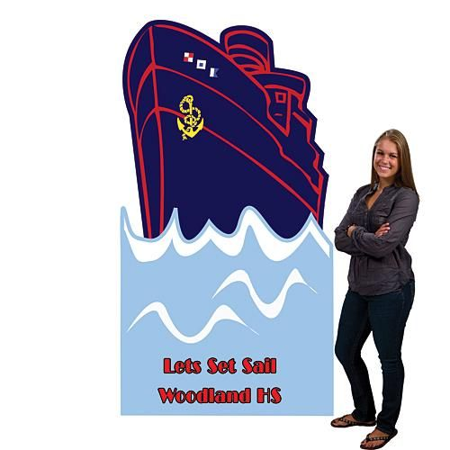 Our Personalized Ship Standee Will Make Your Nautical