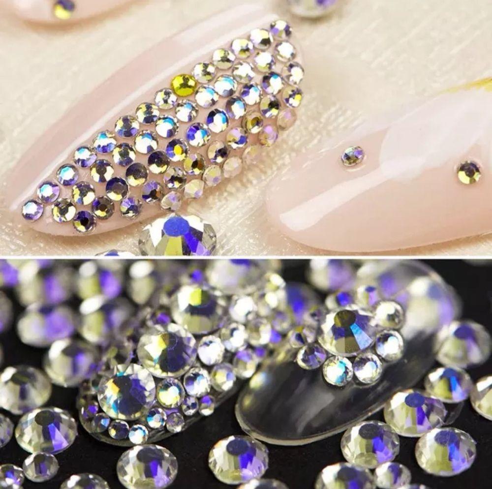 cf87e40d3cbd Swarovski Crystals SKY AB flat back stones rhinestones gems non hotfix for  nails  Swarovski