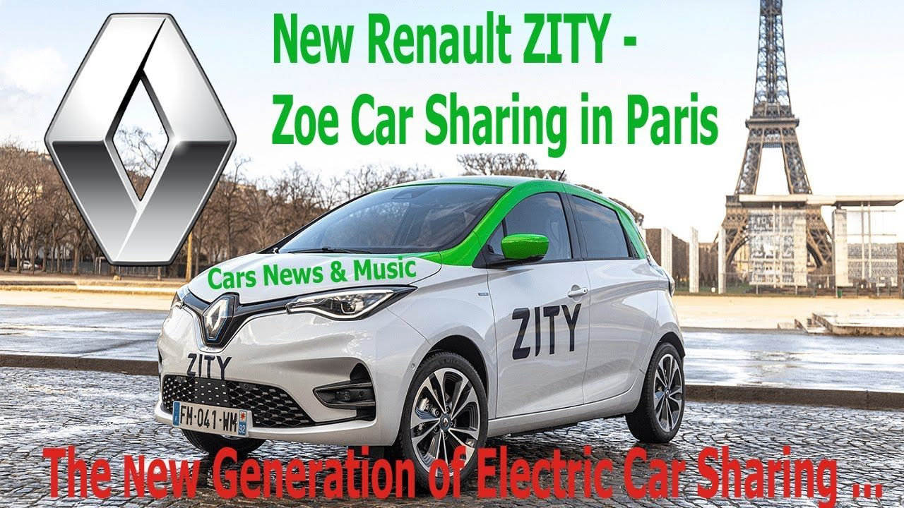 Renault's Electric Zeo Car Sharing Project Zity Launches