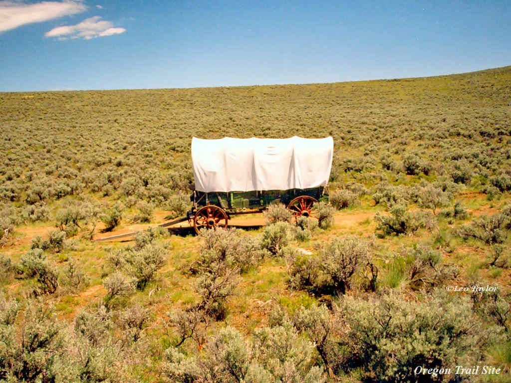 Wagon Oregon Trail