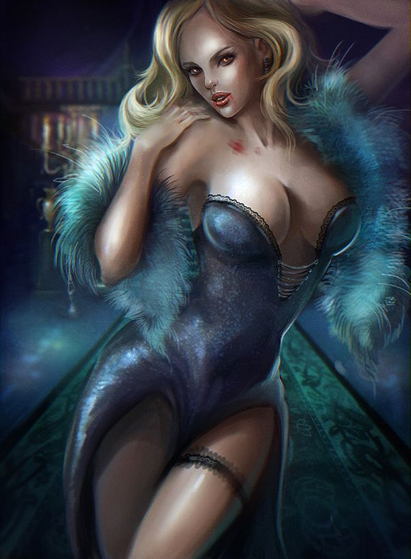 Sex sexy erotic fantasy girls gown and robes