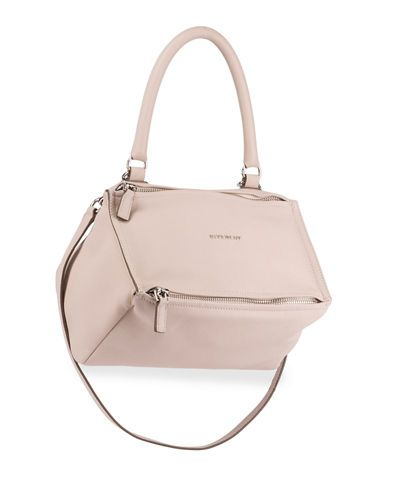 GIVENCHY Pandora Small Leather Shoulder Bag, Light Pink.  givenchy  bags   shoulder bags  hand bags  lining  leather  cotton   6730baa6ed