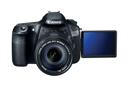 Canon 60D -- my current camera.