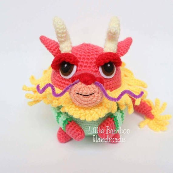 PATTERN - Dragon The 12 Zodiac Egg - Crochet Pattern, pdf ...