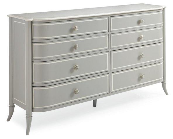 Mademoiselle 8 Drawer Dresser Gray Dressers Nightstands Week 11 Sales Events 2019 One Kings Lane Caracole Furniture 8 Drawer Dresser