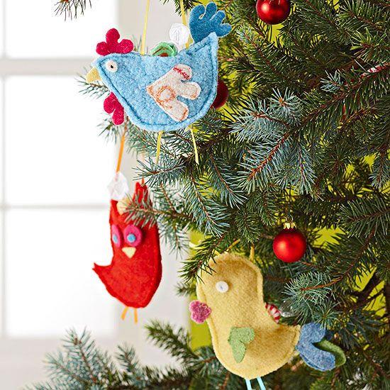 Felt Christmas Ornaments Felting, Felt christmas ornaments and