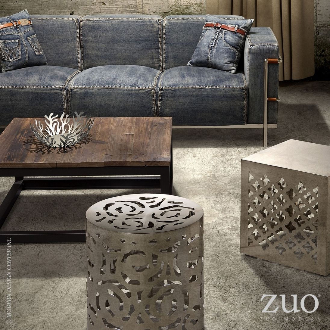 zuo modern civic center square coffee table distressed on lowes paint colors interior id=66852