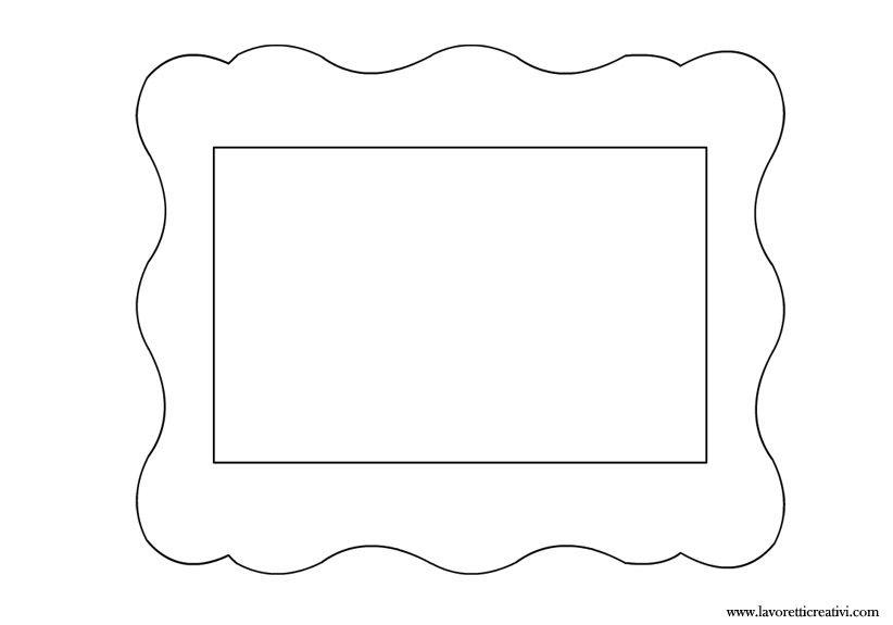 Cornice portafoto 4 creazioni pinterest portafoto - Modelli di ghirlanda stampabili ...