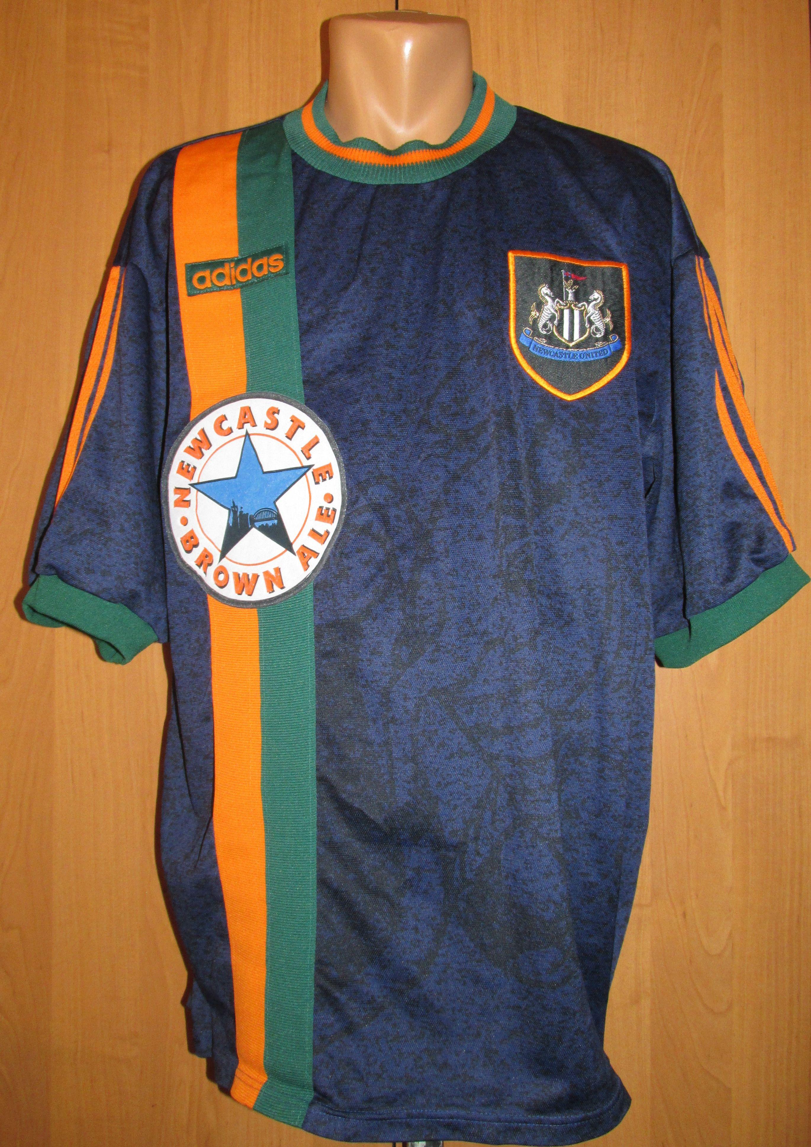 the best attitude 5452d f244c Newcastle united 1997/1998 away football shirt jersey ...