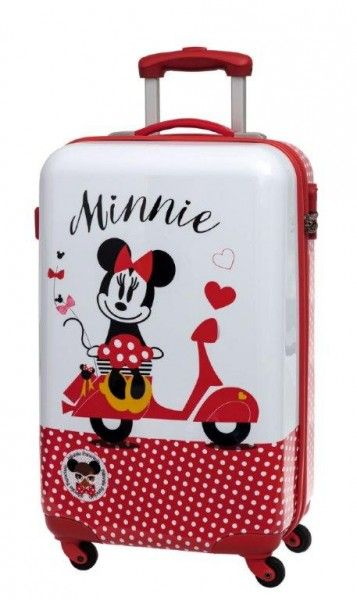 half price really comfortable reputable site Trolley in ABS 55 cm Disney Minnie Vespa - TocTocShop.com ...