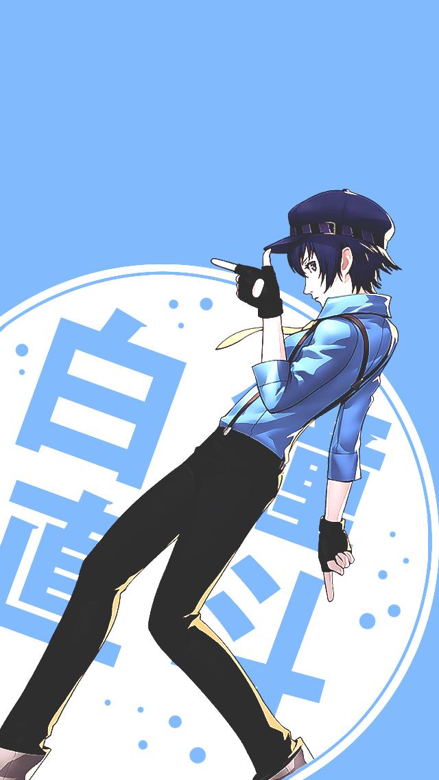 Naoto Shirogane In P4d Persona 4 Persona Crossover Anime