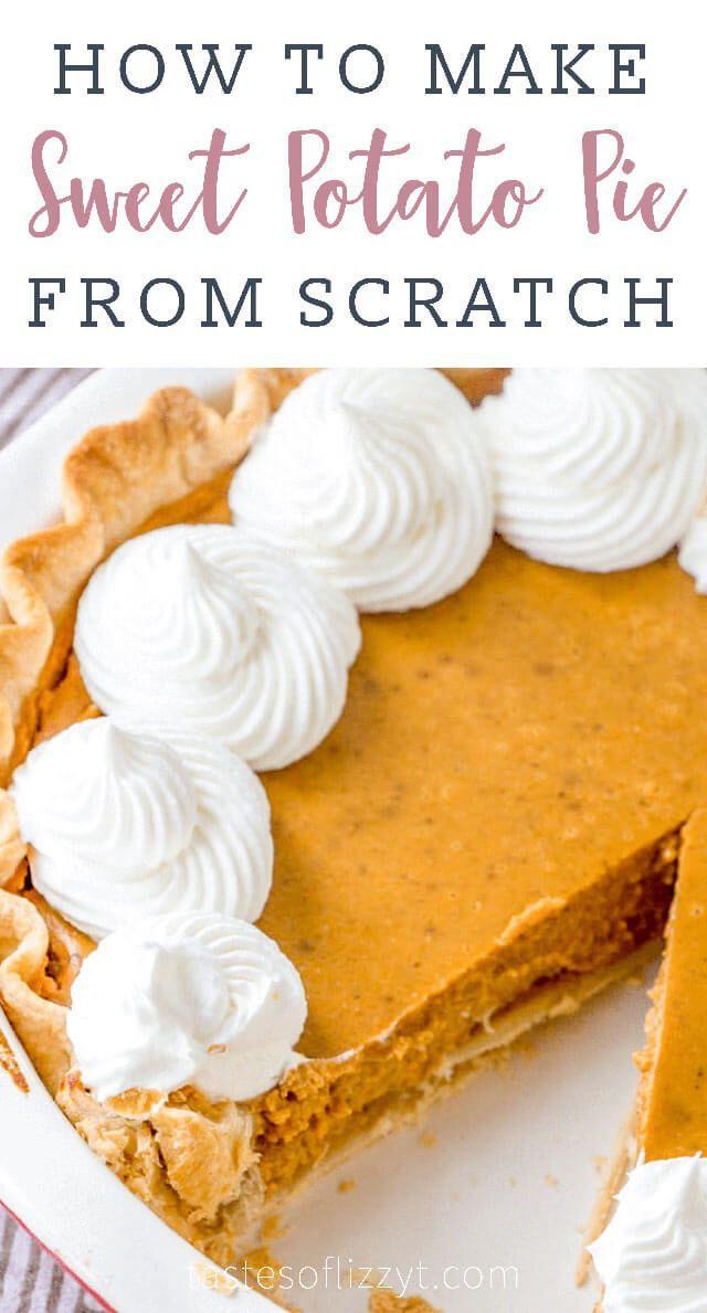 Sweet Potato Pie Recipe {Best Sweet Potato Pie From Scratch}