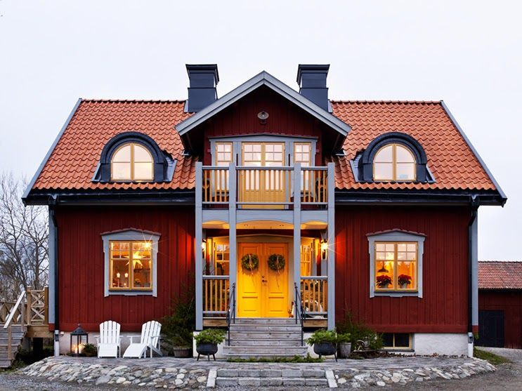 Swedish Style House best 25+ swedish house ideas on pinterest | sweden house, red