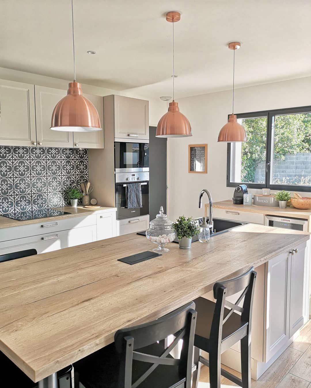 Ilot Central Kitchen Island Kitchen Remodel Small Modern Kitchen Island Kitchen Inspirations