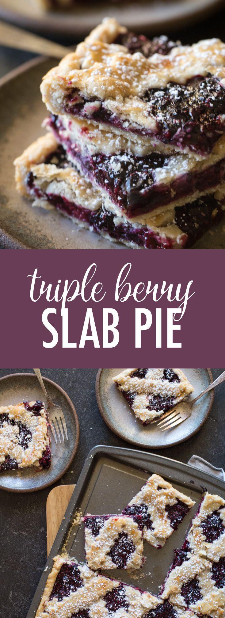 Triple Berry Slab Pie – Lovely Little Kitchen