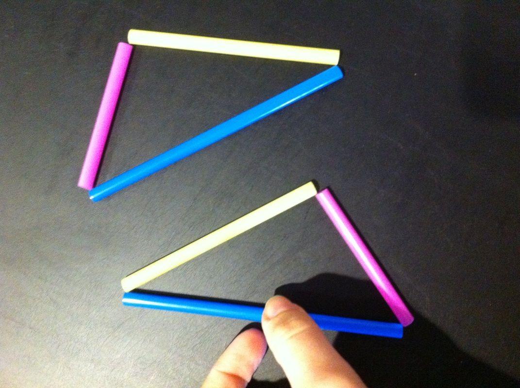 Teaching Congruent Triangles Sss Sas Asa