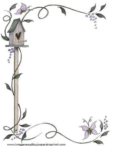 Bordes para decorar hojas-Imagenes y dibujos para imprimir | Mas qe ...