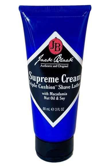 Jack Black Supreme Cream Triple Cushion Shave Lather Available At Nordstrom Travel Size Products Lathering Shaving