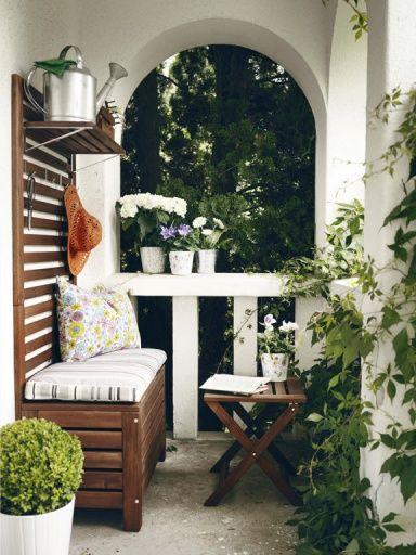 Schmalen Kleinen Balkon Gestalten Mehr Ideen Kahle Wande