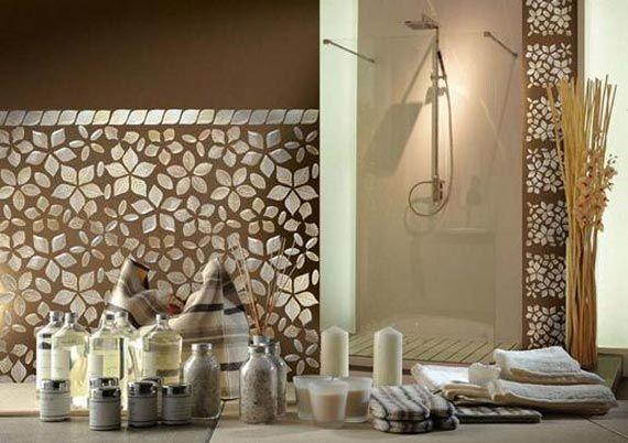 Mosaic tile--built in artwork For the Home Pinterest Bathroom