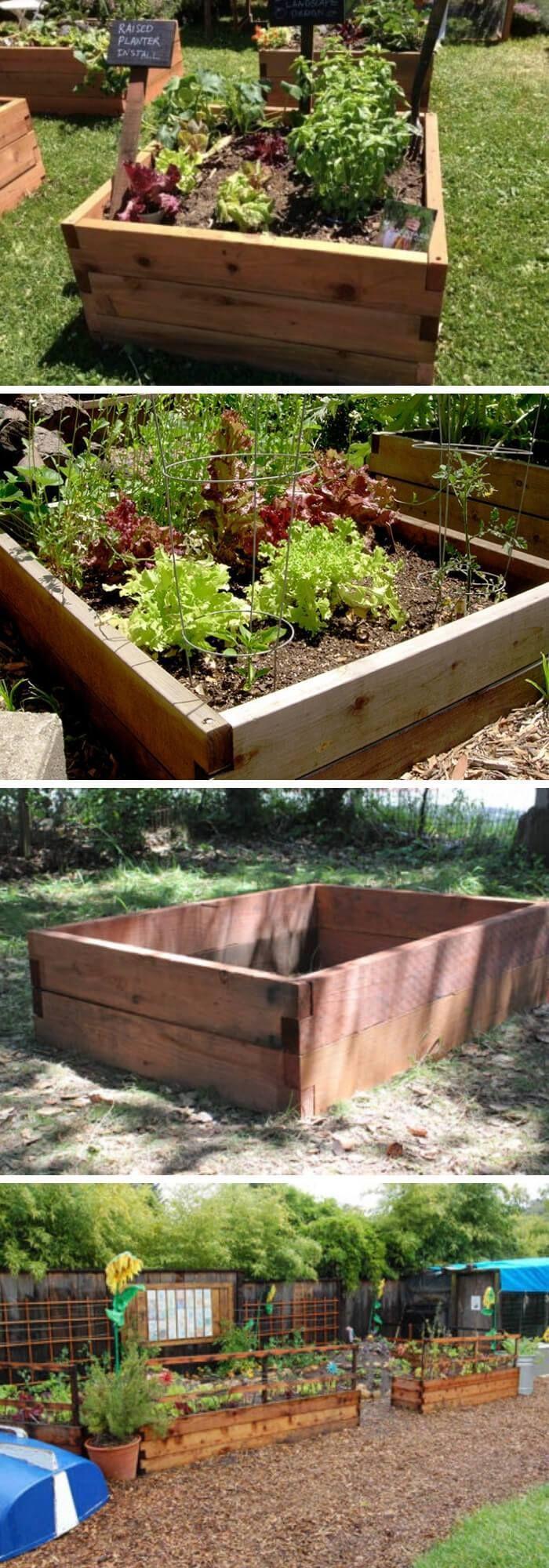 Urban Gardening: How To Build A Raised Bed (15 Ideas) #erhöhtegartenbeete