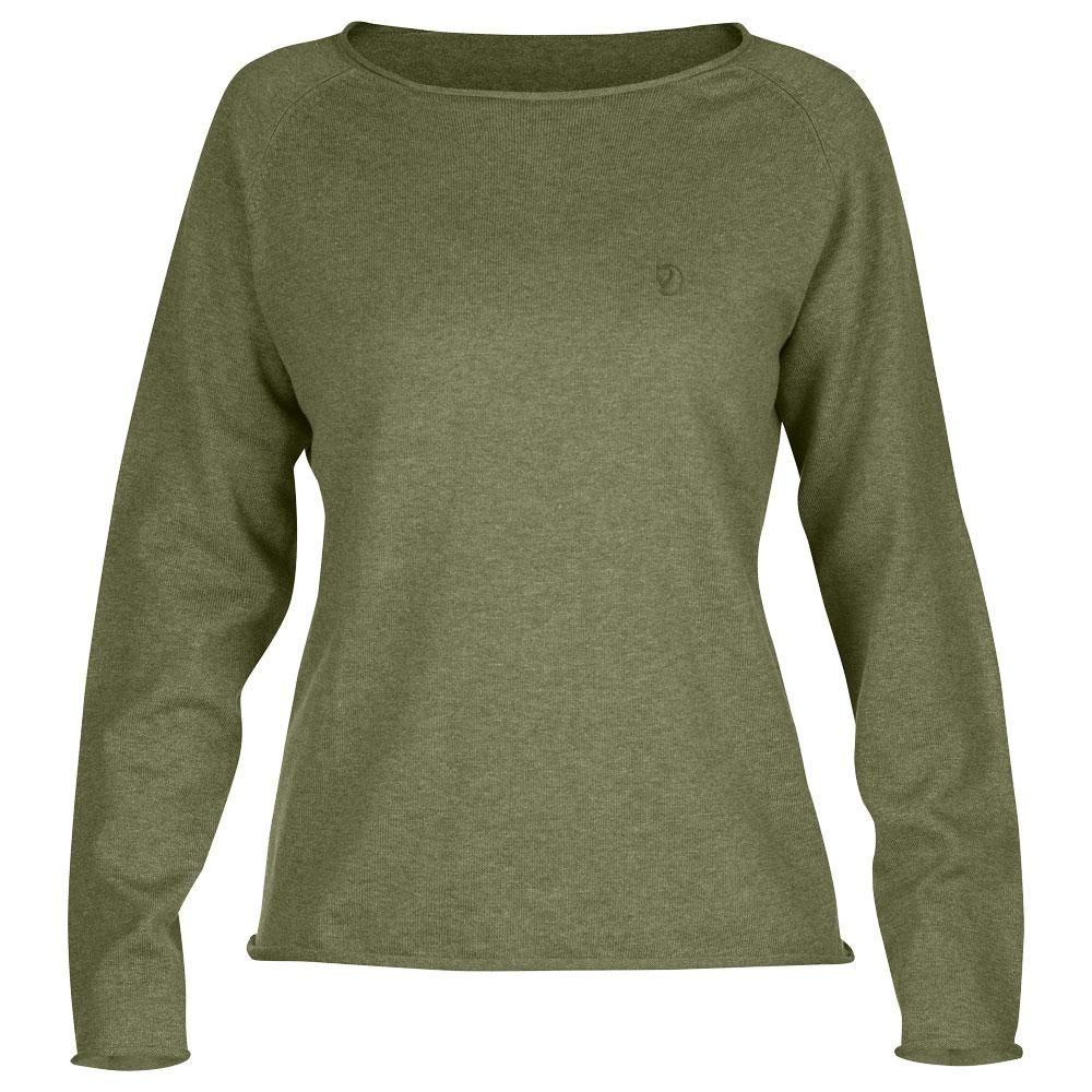 Fjäll Räven Övik Sweater Damen *grün*