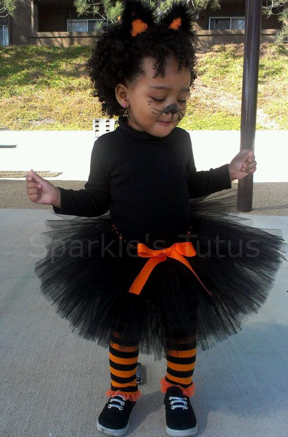 Halloween Black Cat Costume FREE Shipping in USA by SparklesTutus