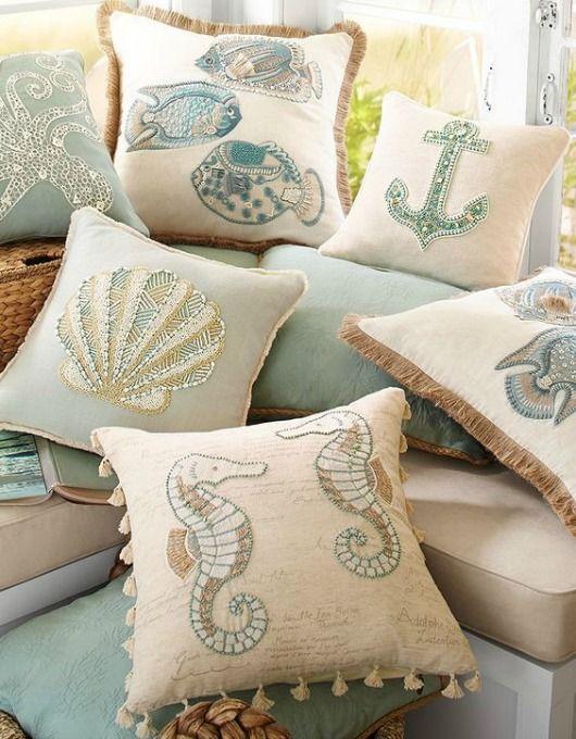 coastal pillow sale at pier 1 from. Black Bedroom Furniture Sets. Home Design Ideas