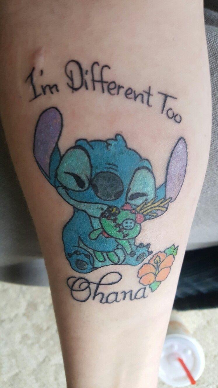 Stitching Tattoo: Stitch Tattoo, Disney Tattoos, Meaningful