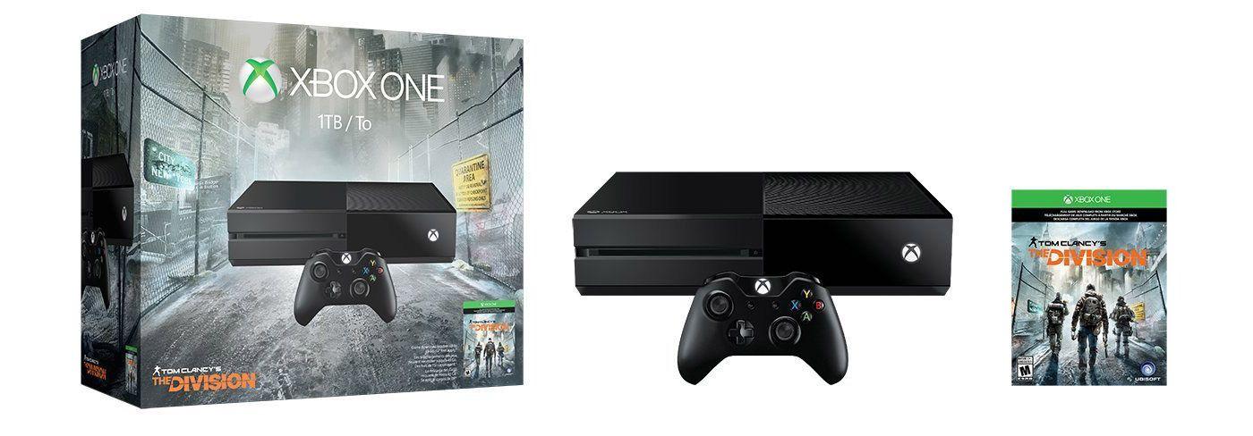 Microsoft bundles 1TB Xbox One with 'Tom Clancy's The