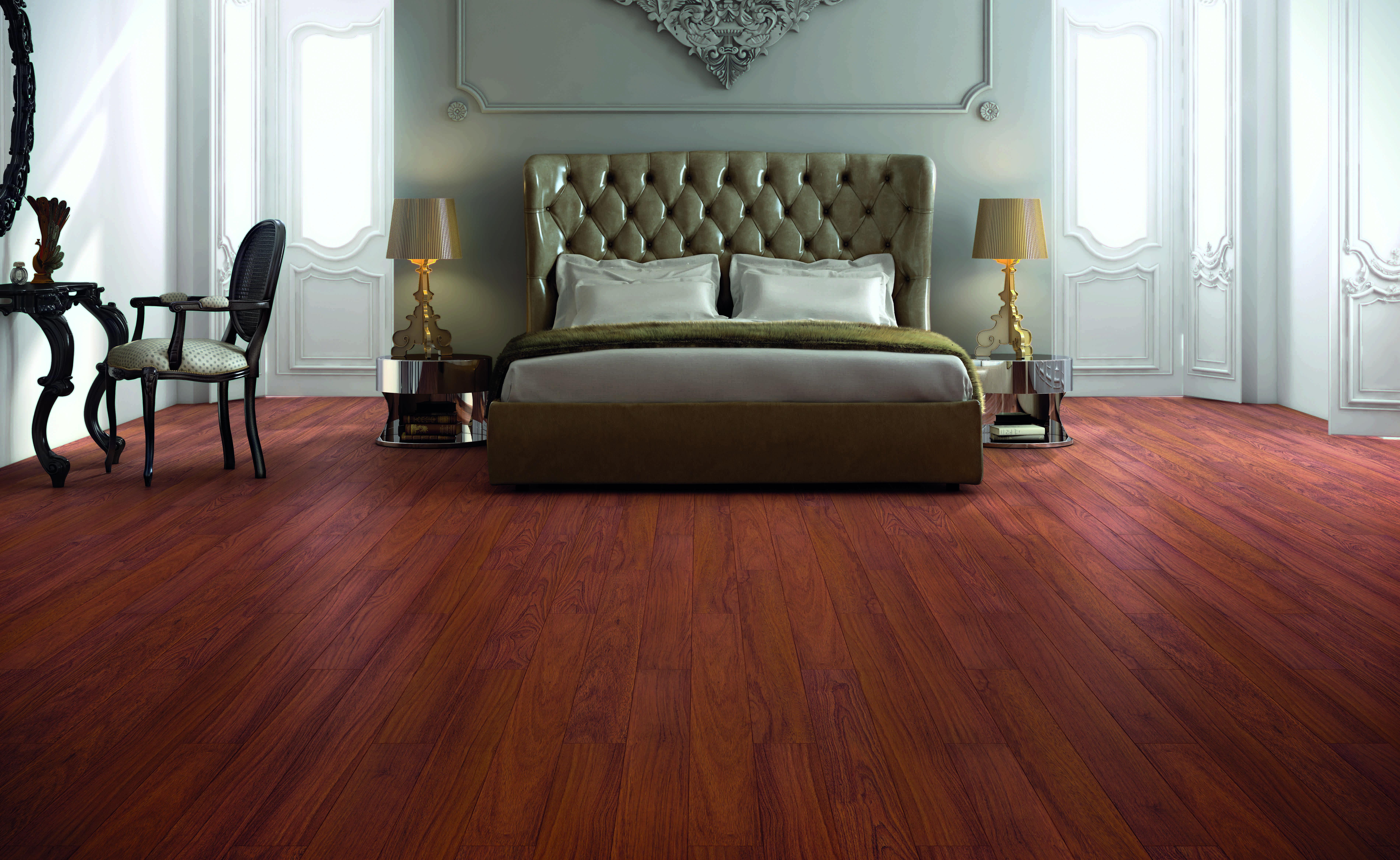 El tono rojizo del suelo laminado finfloor sytle merbau - Que es un suelo laminado ...