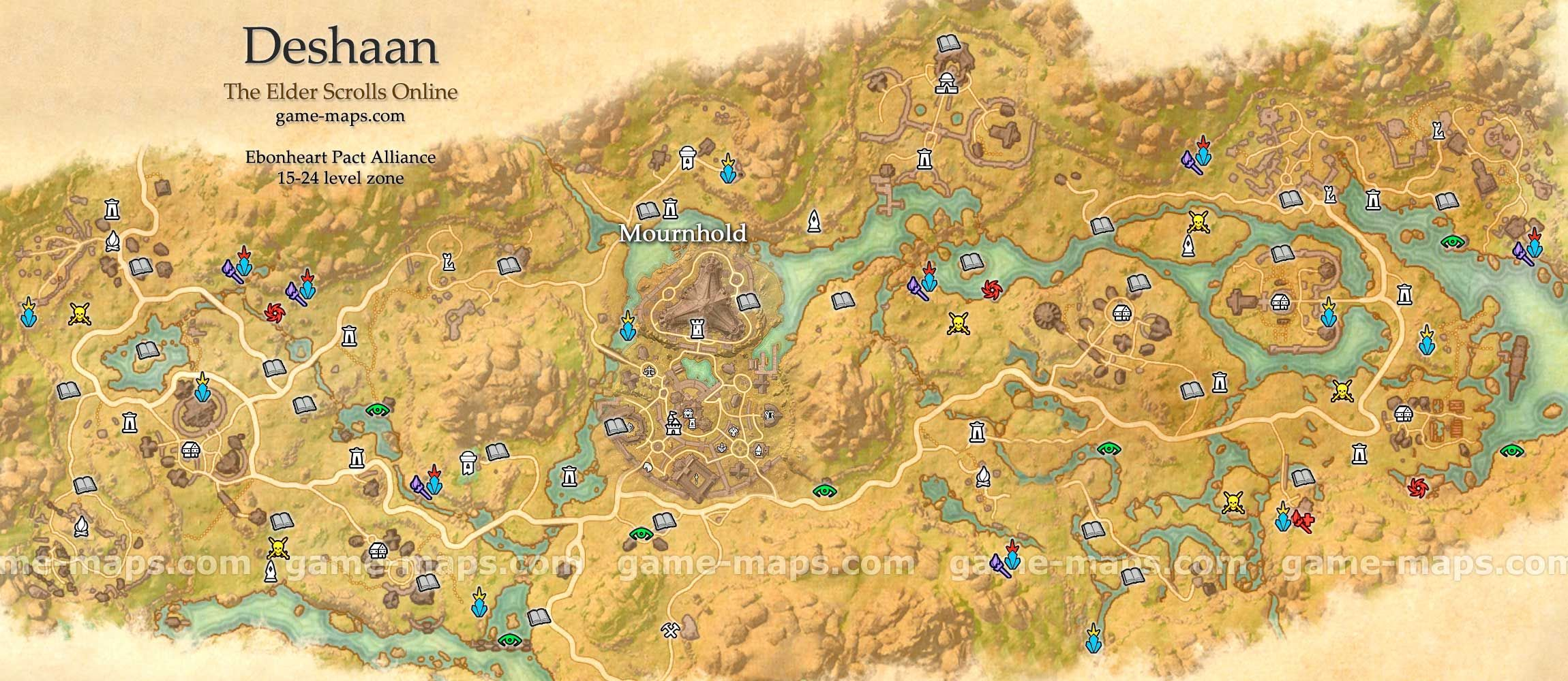 Deshaan map the elder scrolls online eso pinterest deshaan map the elder scrolls online gumiabroncs Images