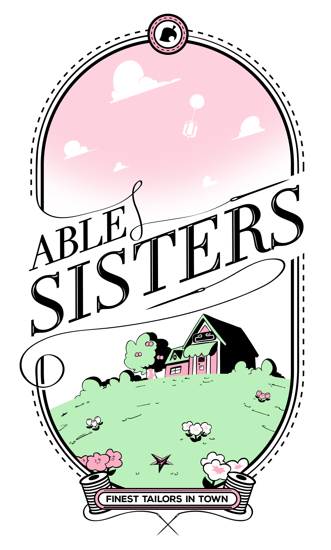 The Able Sisters from Animal Crossing Animal crossing