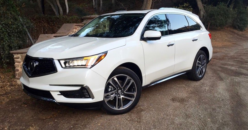 Review The 2017 Acura MDX Is Success, Now With A New Face