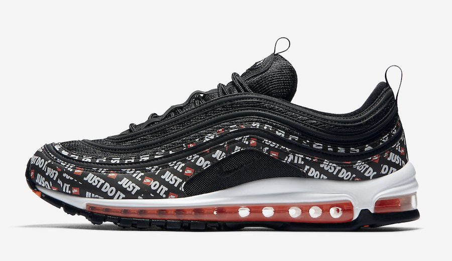 Official Images Nike Air Max 97 Just Do It Nike Air Max 97 Sneakers Men Fashion Nike Air Max