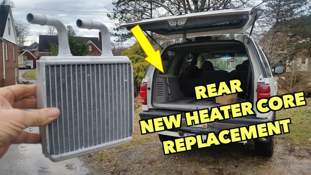 Expedition Rear Heater Core Replacement. - YouTube in 2020 ...