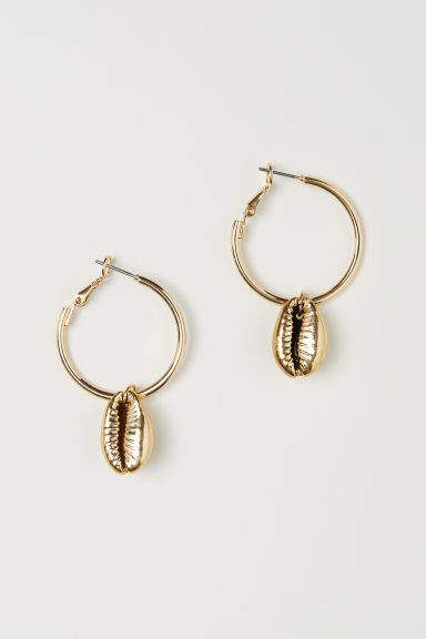 fd6444129a8a H M Earrings - Gold