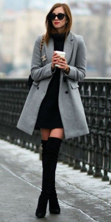 43 Casual Winter Outfits Ideas For Work 2018