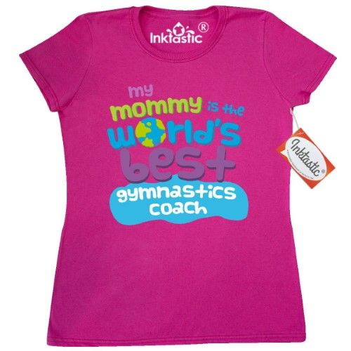Inktastic Gymnastics Coach Gifts For Kids Women's T-Shirt Auditing Clothing Apparel Clothes Occupation Job Cute Tees Adult Hws, Size: Large, Pink