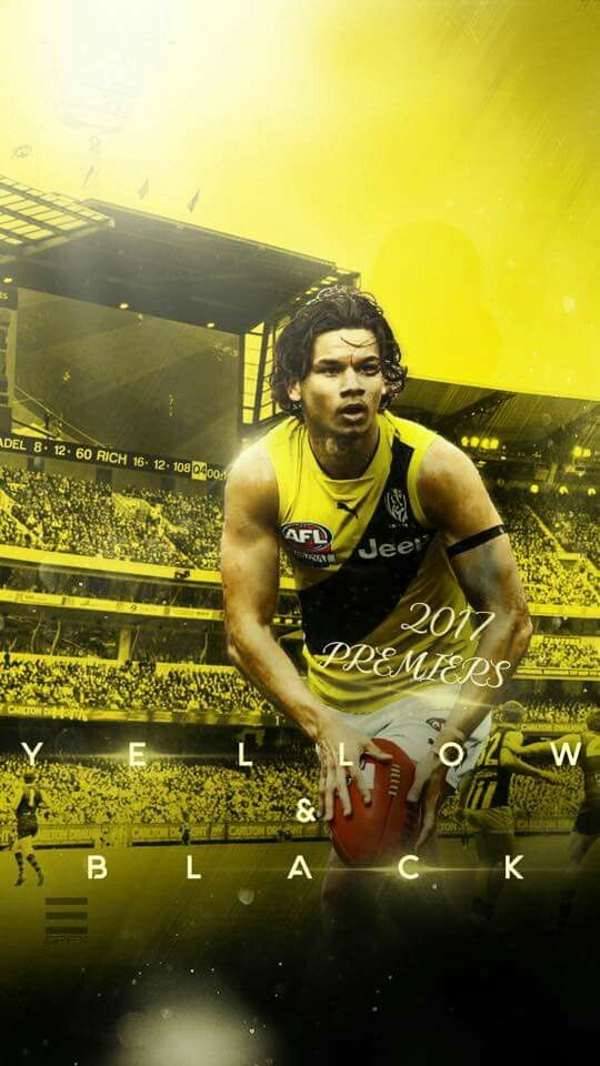 Daniel Rioli Richmond Football Club Richmond Afl Football Club