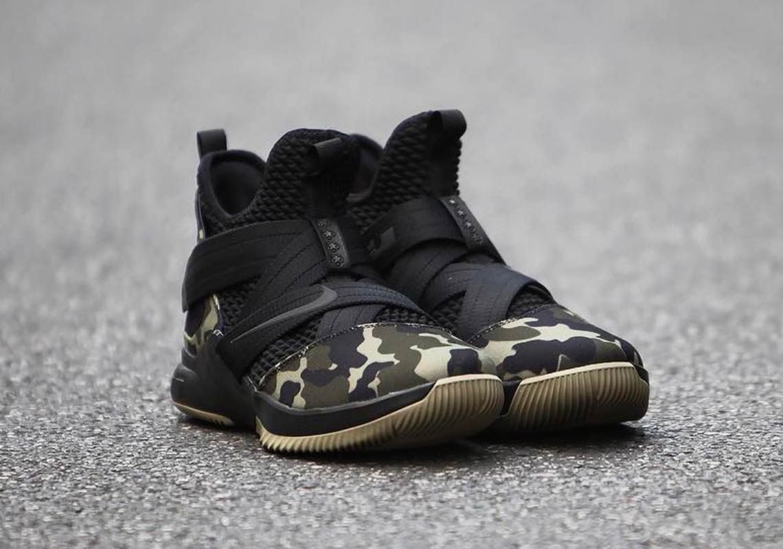 wholesale dealer 05adc da30c nike-lebron-soldier-12-military-camo | Roks Kicks in 2019 | Nike ...