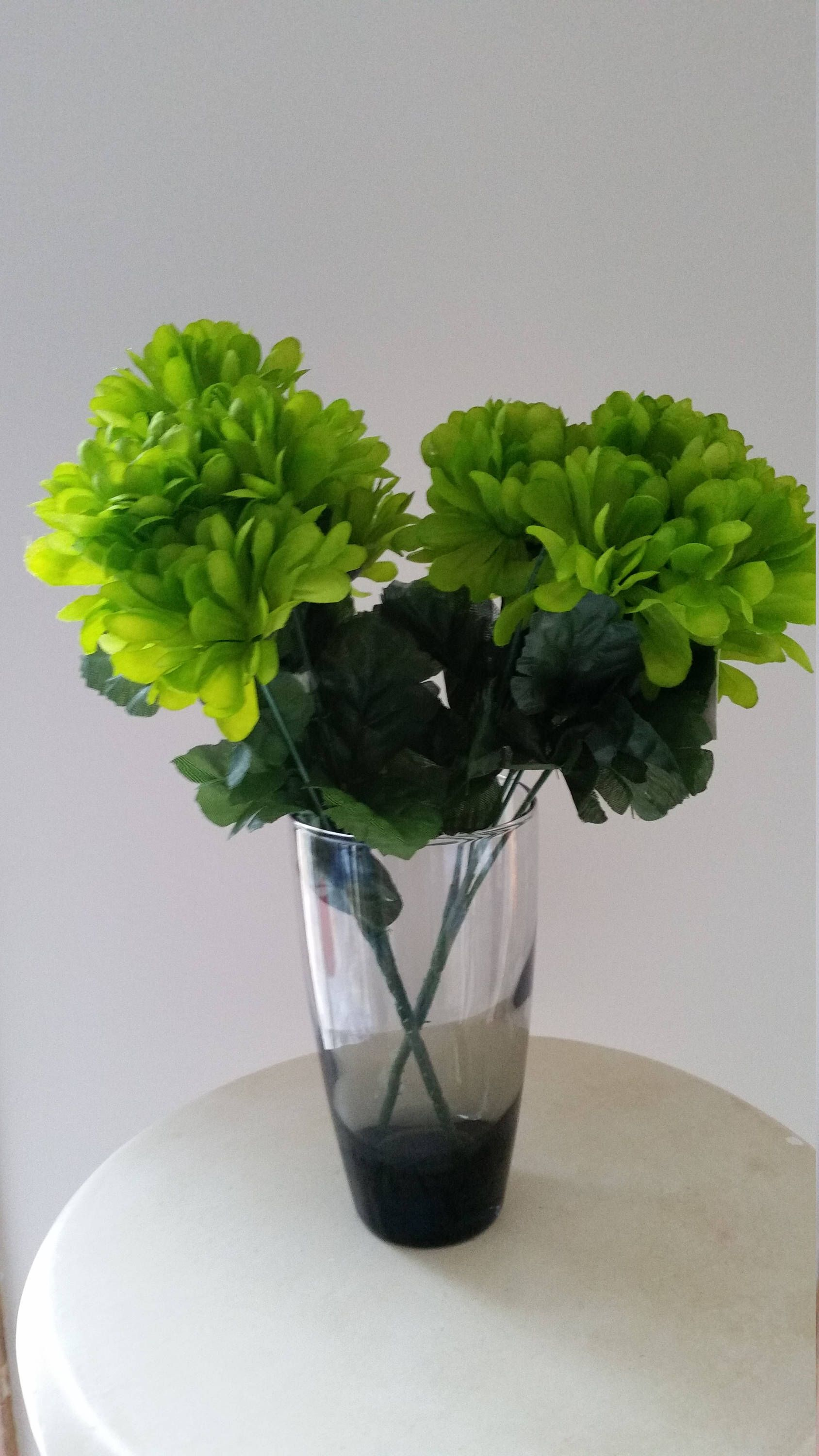 Lime green silk flowers mum carnation bush craft floral supply diy lime green silk flowers mum carnation bush craft floral supply diy bride wedding bouquet making mightylinksfo Images